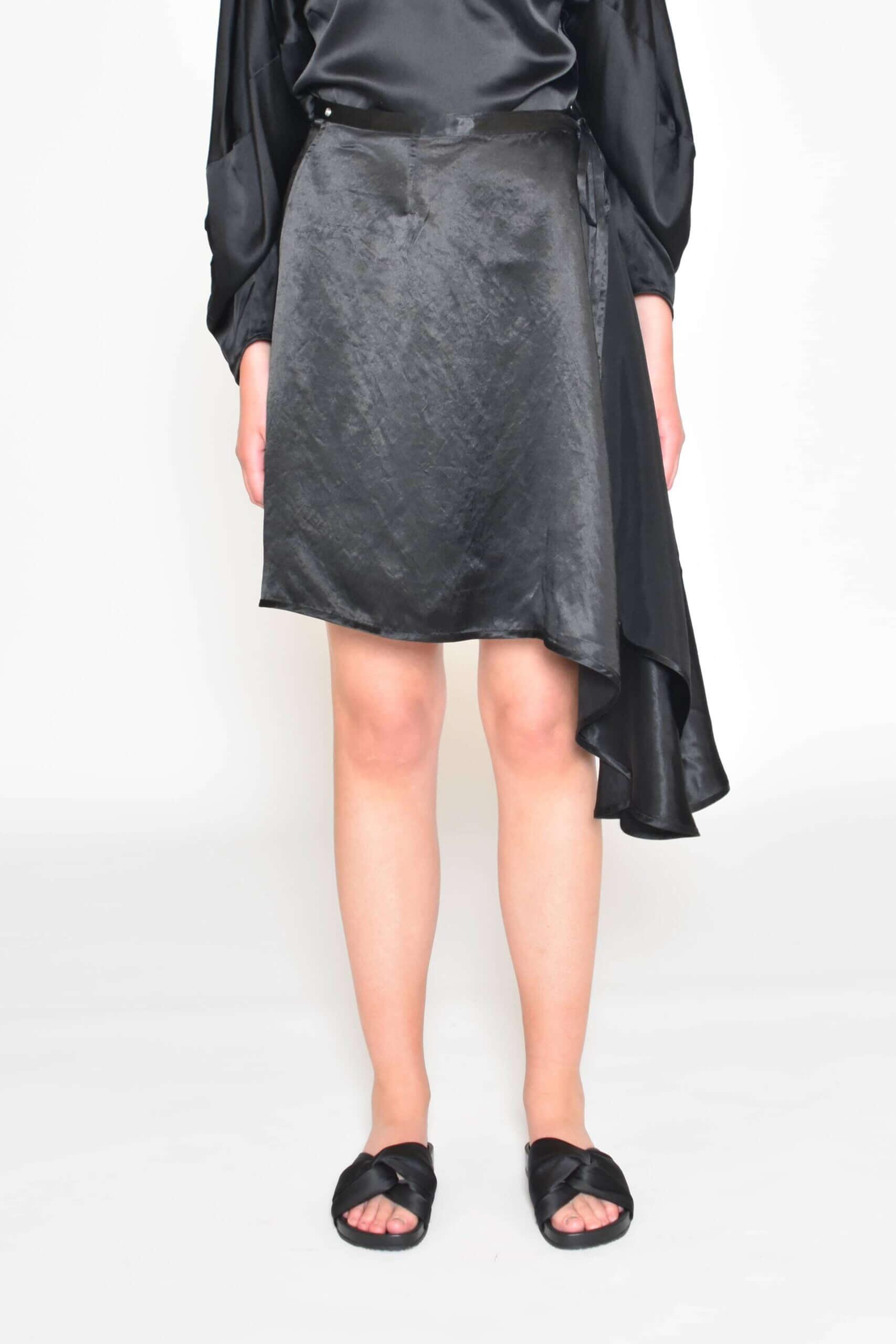 Sima Satin Skirt
