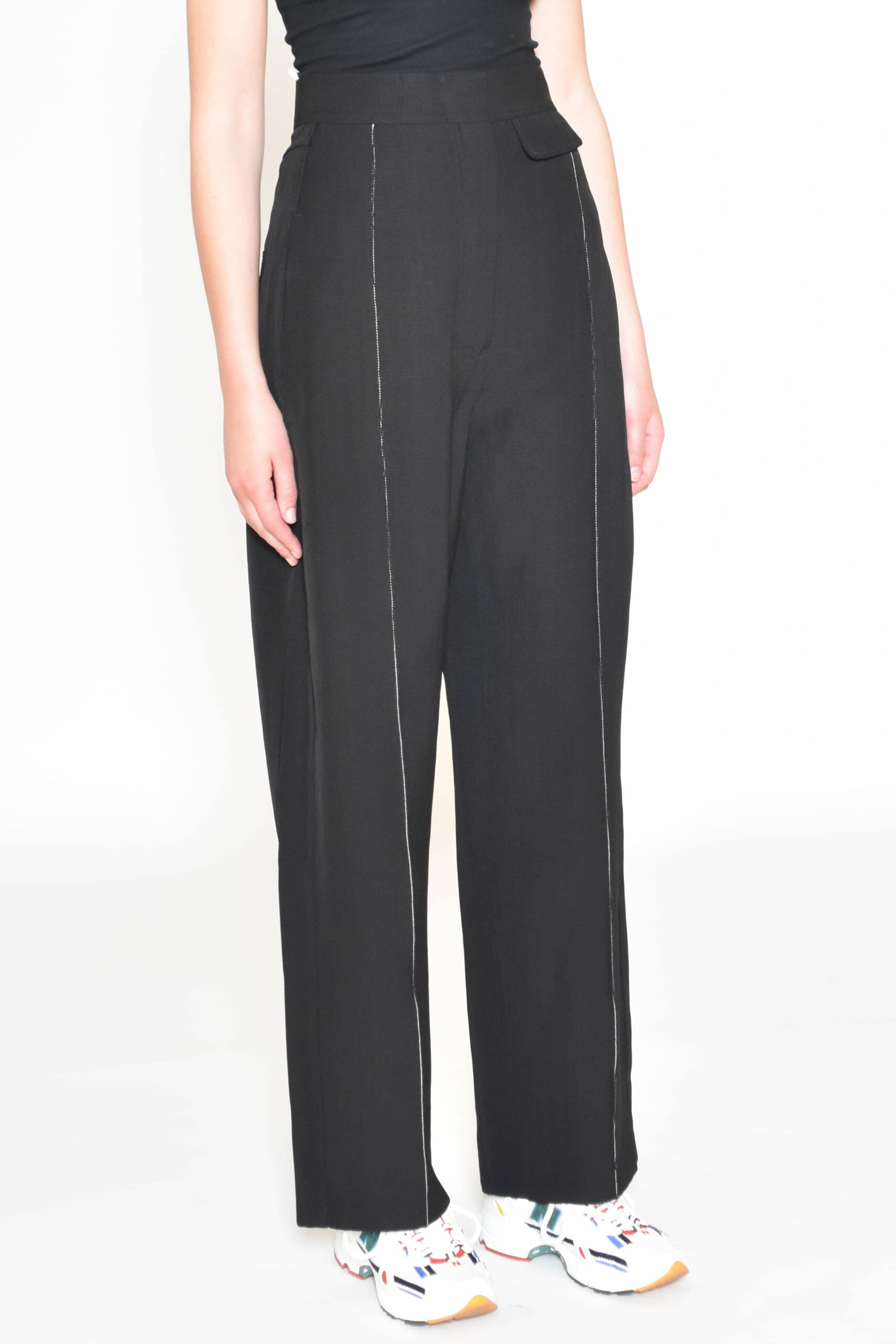 Black Suiting Trouser