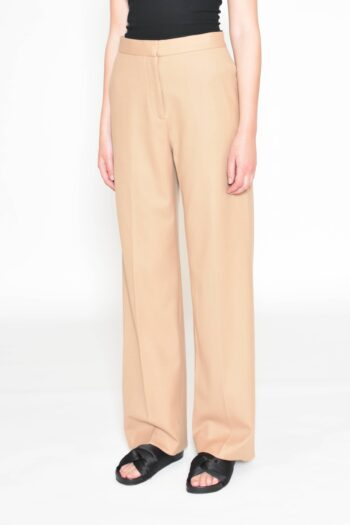 Beige Suiting Trouser